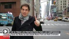 Canal Sur Radio dará las campanadas desde Nueva York