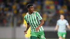 Junior Firpo, en un partido del Betis (Getty).