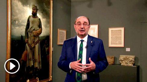 Javier Lambán, Presidente de la comunidad de Aragón