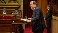 El líder del PSC, Miquel Iceta. Foto: Europa Press