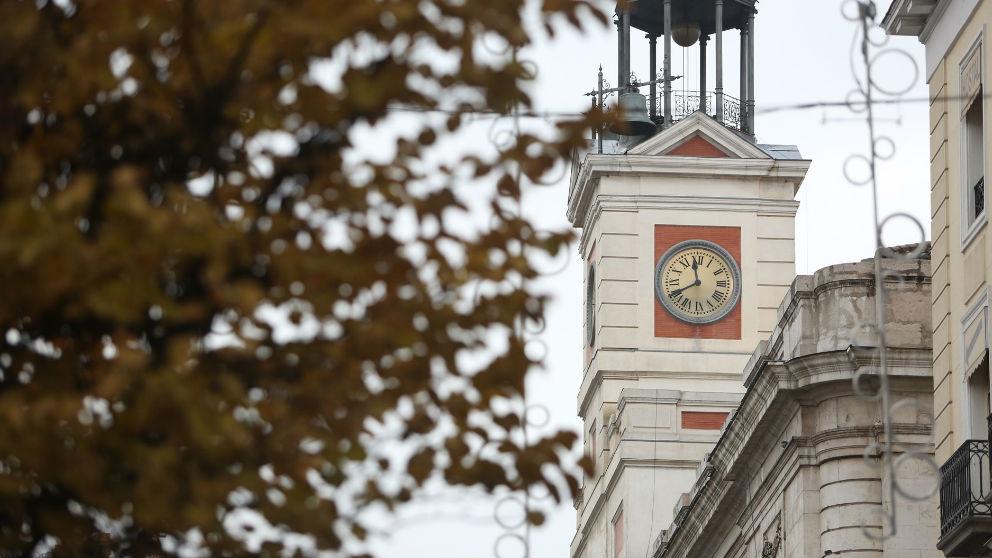 Reloj de la Puerta del Sol de Madrid. Foto: Europa Press