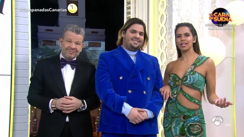 Cristina Pedroche en las Campanadas para Canarias