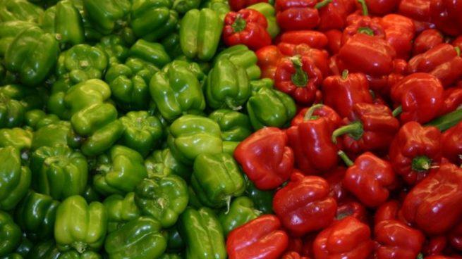 Alimentos verdes saludables