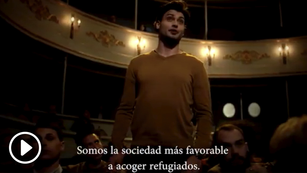 Este vídeo de la Secretaría de Estado de la España Global fue el primero en TVE tras las campanadas.