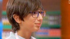Daniel, uno de los concursantes más queridos, abandonó 'MasterChef Junior'
