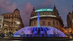 El banco italiano Banca Carige intervenido hoy por el BCE