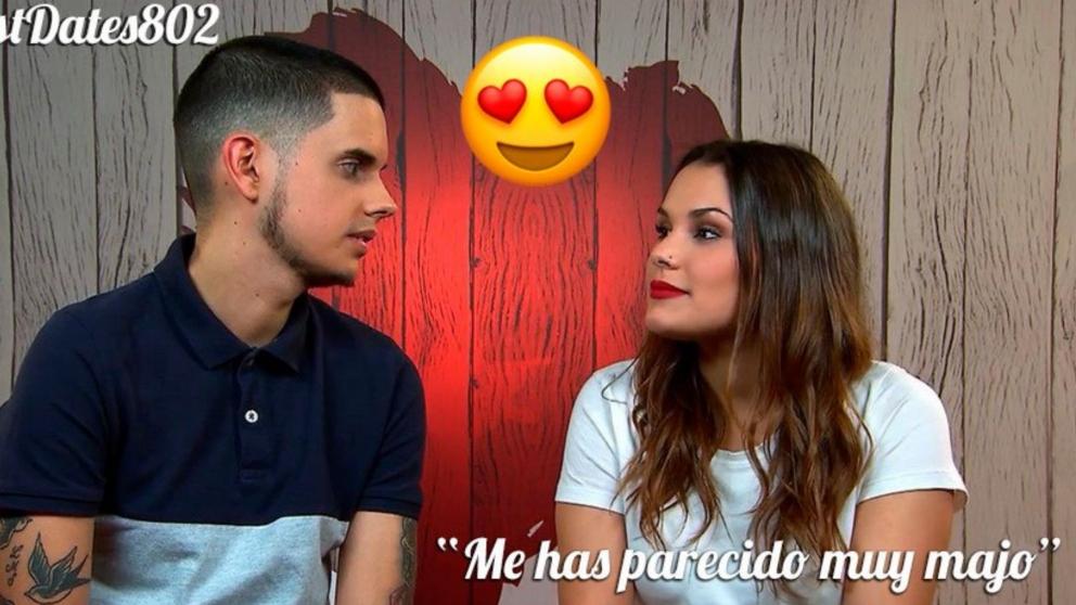 Esther y Luis han sentido mucha atracción en 'First Dates'