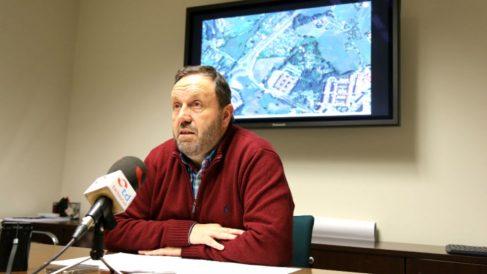 El alcalde de Fuenterrabía, Txomin Sagarzazu (PNV).