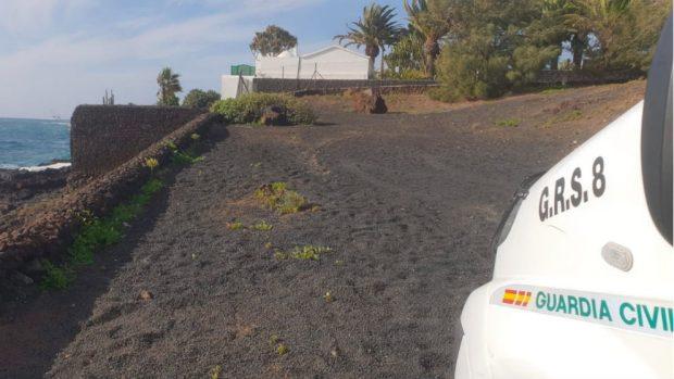 Los guardias civiles que custodian a Sánchez en Lanzarote pasan la noche a 6º sin garita ni relevos