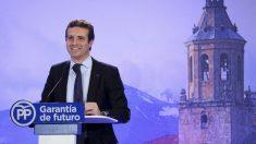El dirigente del PP, Pablo Casado (Foto: Europa Press