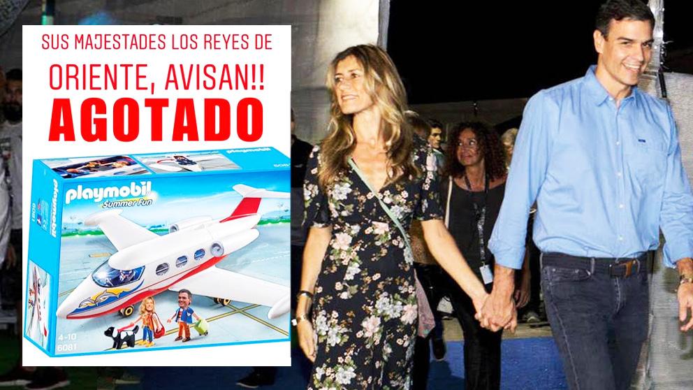 El último meme sobre Pedro Sánchez y su Falcon que se ha vuelto viral en redes