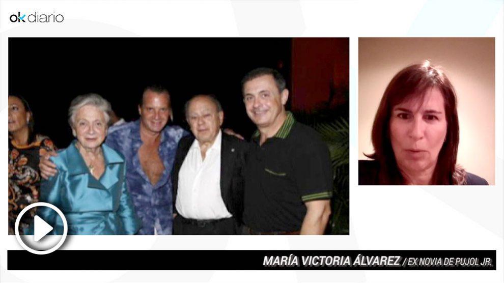 Victoria Álvarez, ex pareja de Jordi Ferrusola que destapó el caso Pujol.