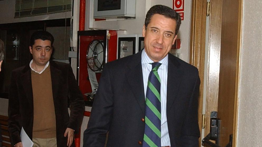Eduardo Zaplana. (Foto: Francisco Toledo)