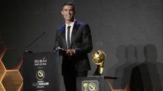 Cristiano Ronaldo, premiado en los Globe Soccer
