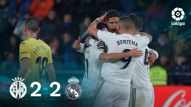 El Madrid se rompe en La Cerámica