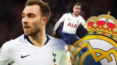Eriksen continúa sin renovar con el Tottenham y el Madrid está al acecho.