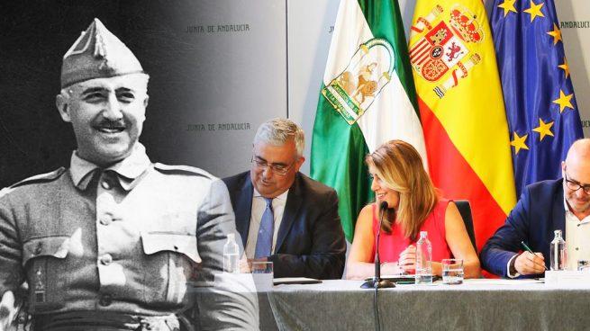 """La ley andaluza que VOX quiere derogar compara el franquismo con el """"exterminio"""" del nazismo"""