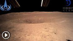 La sonda Chang'e-4 de China aterrizó este 3 de enero en la cara oculta de la Luna. Foto: Twitter