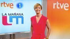 María Casado, presentadora de La Mañana, en La 1. (Foto. RTVE)