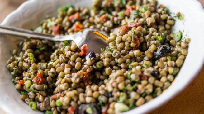 guiso de soja con verduras
