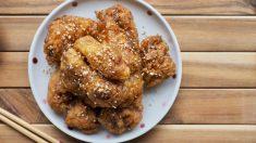 Receta de pollo frito oriental