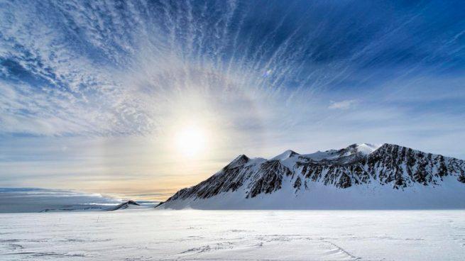 zona inexplorada de la Antártida