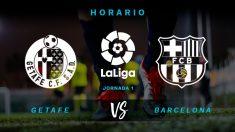 Getafe – Barcelona: Liga Santander jornada 18