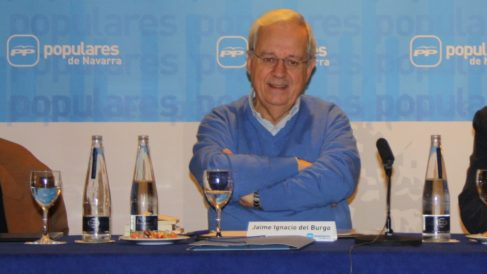 Jaime Ignacio del Burgo. (Foto. PP Navarra)
