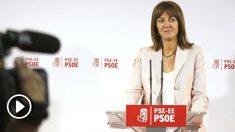 Idoia Mendia, líder del PSE. (Foto: EFE)
