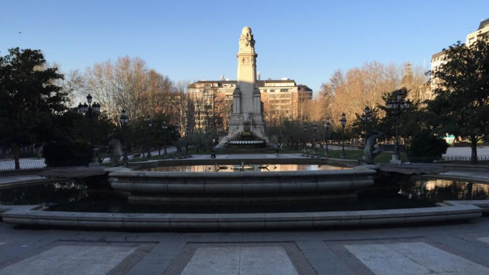 Plaza de España de Madrid (Foto: A-J. CHINCHETRU).