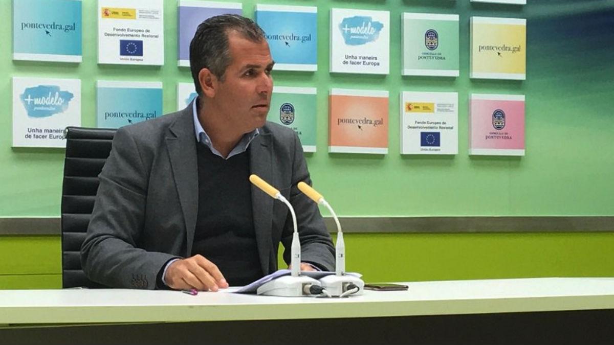 Rafa Domínguez, del PP de Pontevedra (PP).