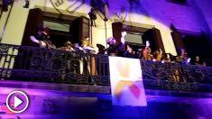 Los Reyes Magos en el distrito de Sant Andreu de la Barca, en Barcelona.