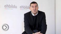 El coordinador general de EH Bildu, Arnaldo Otegi