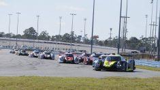 Un instante de la sesión libre de las 24 horas de Daytona. (@Rolex24Hours)