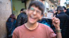 Un niño de quince años ha sido premiando con un décimo del 'Gordo' del Sorteo del Niño (Foto: Europa Press)