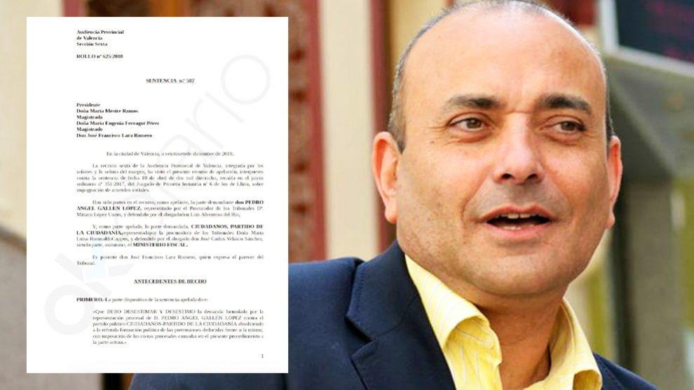 Pedro Gallén, ex edil de Ciudadanos en Bétera y ahora concejal no adscrito. (Foto: Contigo Bétera)