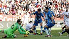 Una imagen del Sevilla-Atlético de Madrid.