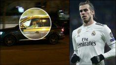 Las cámaras de El Chiringuito pillaron a Bale saliendo del Bernabéu.