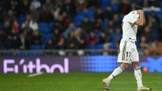 Una imagen del Bernabéu en el Real Madrid-Real Sociedad. (Getty)