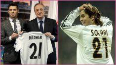 Brahim llevará el dorsal 21 en el Real Madrid, el mismo que lució su técnico, Santiago Solari.