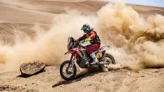 Joan Barreda, primer líder del Rally Dakar 2019 en motos.
