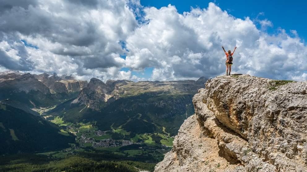 Si quieres hacer escalada necesitas llevar el material básico para escalar