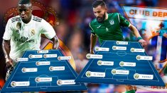 Real Madrid y Leganés se miden esta noche en Copa del Rey en el Bernabéu.