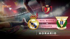 Real Madrid – Leganés: Copa del Rey 2018-19.