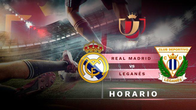Real Madrid – Leganés: Horario y dónde ver el partido de Copa del Rey