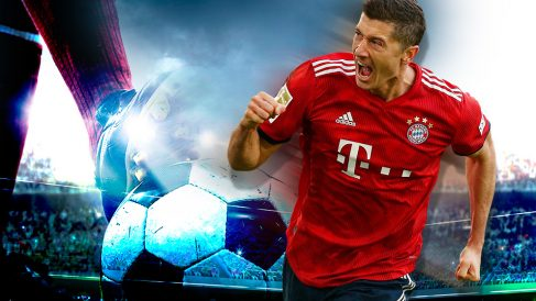 Robert Lewandowski, objetivo del Real Madrid para el mercado de invierno.
