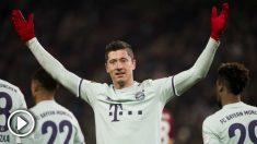 Los jugadores del Real Madrid han pedido a Florentino el fichaje de Lewandowski. (AFP)