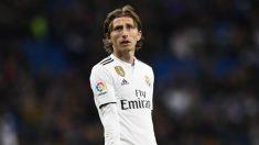 Luka Modric sigue siendo el principal objetivo del Inter de Milán (AFP).