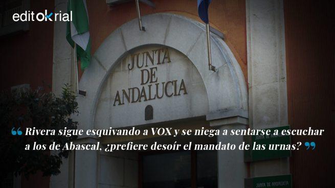 ¿Qué quiere Ciudadanos? ¿Presidir la Junta con el PSOE?