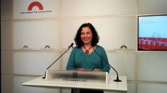 Susanna Segovia, portavoz de Podemos en el Parlament. Foto: EP